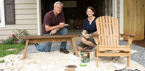 how to clean and stain outdoor wood furniture today s