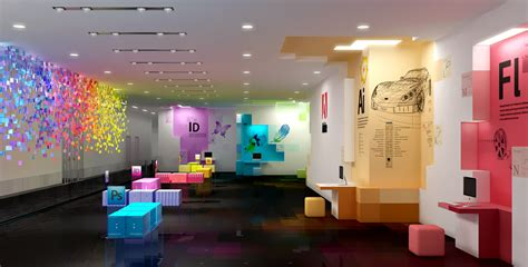 Creative Office Design Ideas by Adobe S Office An Artist S Visualization