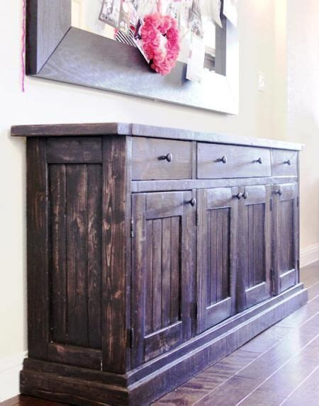 19 Best Buffet Hutch Images On Pinterest Build Your Own Buffet Cabinet