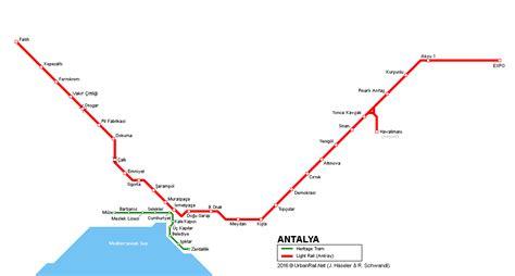 New Atalya urbanrail net gt asia gt turkey gt antalya light rail and