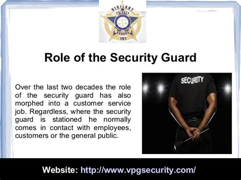 Security Guard Duties by Duties And Responsibilities Of A Security Guard