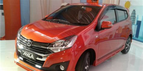 Tv Mobil Ayla Murah ini perubahan terbaru mobil murah ayla co id