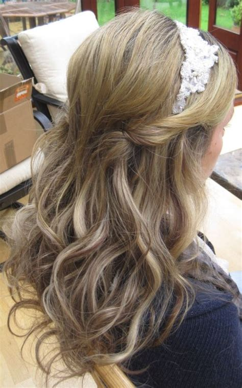 wedding hair half up half with tiara wedding hairstyles half up half with tiara www