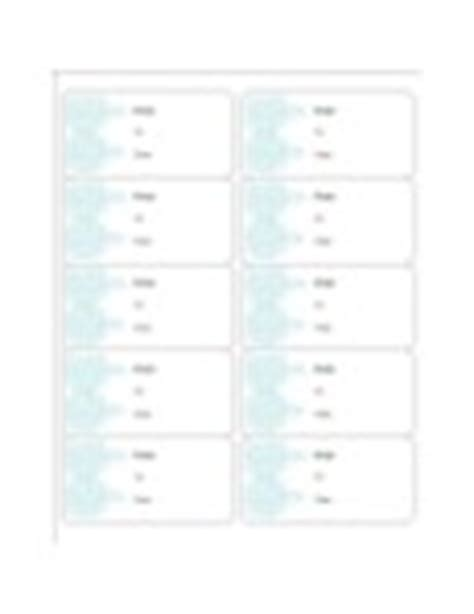 avery 18663 template templates turquoise gift labels 10 per sheet avery