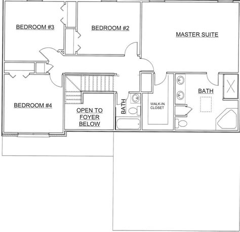 washington floor plan the washington 113 falling waters luxor homes inc