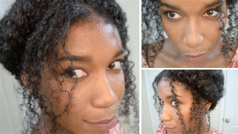 natural hair thin crown the crown braid on thick curly hair natural hair youtube