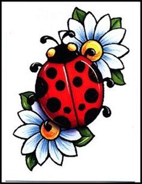cartoon ladybug tattoo ladybug flying tattoo clipart panda free clipart images