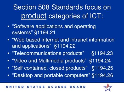 Section 508 Requirements by Section 508 Accessibility Idrac 2014 Timothy Creagon