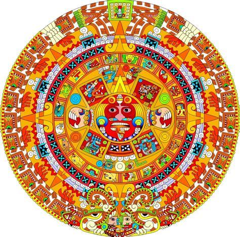 Calendario Azteca Y Piedra Sol Zadath Chanto 2012