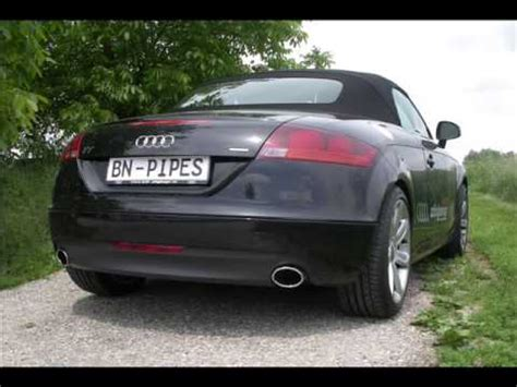 Audi Tt 8j Auspuffanlage by Bn Pipes Auspuffanlage F 252 R Audi Tt 2 0 Tfsi Typ 8j