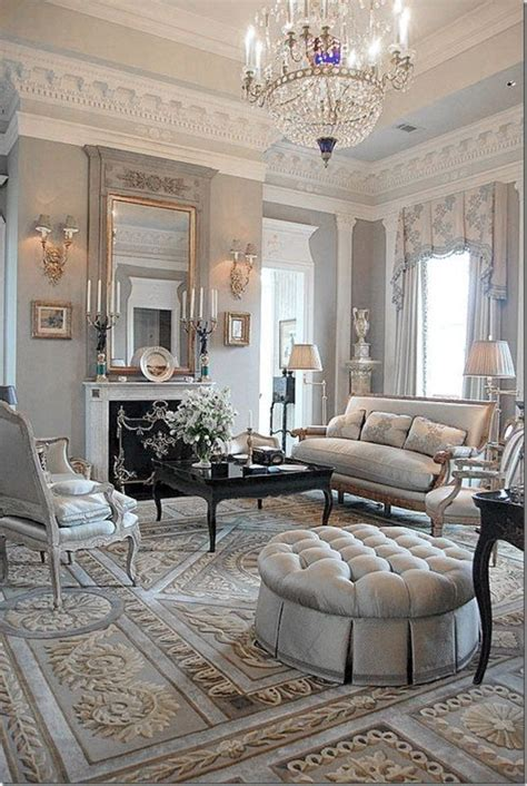french livingroom chic and luxurious large french style living room ideas