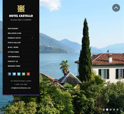 theme hotel full screen 20 hotel business wordpress themes by hermesthemes