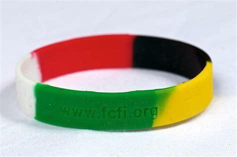 fellowship of christian farmers 187 silicone bracelet