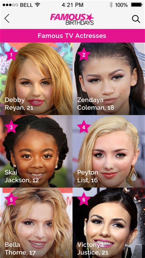 most famous celebrity birthdays famous birthdays celebrity bios and birthdays on the app