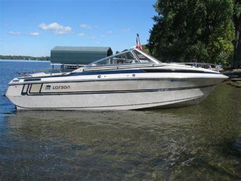 speedboot chaparral 265 21 feet 1984 larson delta sport 7000 cuddy cabin blue