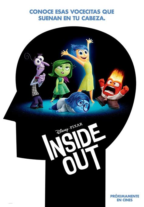 inside in spanish meet the character posters video from inside out