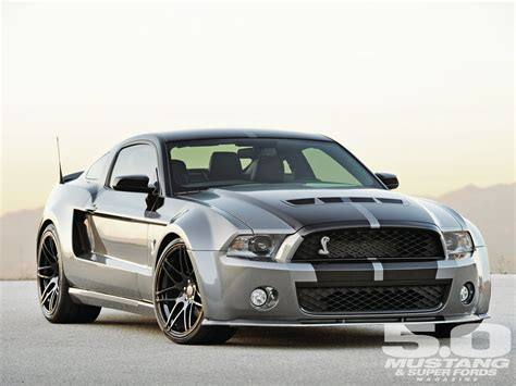 mustang shelby modified shelby mustang with a wide body kit automobiles