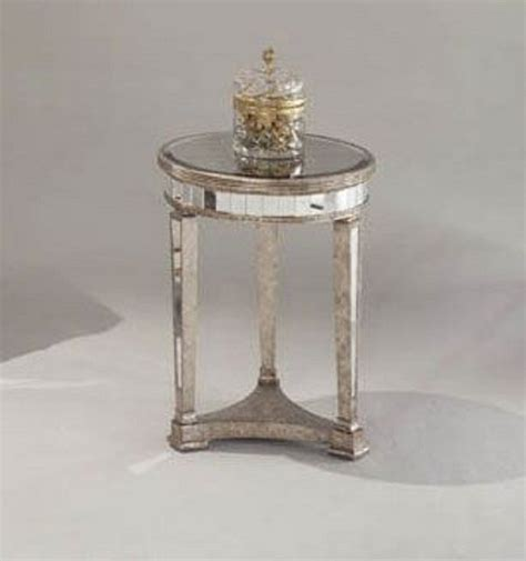 Borghese Mirrored Coffee Table Bassett Mirror Borghese End Table 8311 220