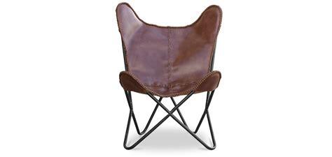 dunkelbrauner stuhl cognac dunkelbrauner leder schmetterling stuhl