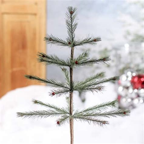 skinny artificial feather tree pick christmas trees and