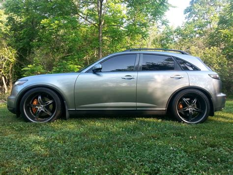 infiniti fx50 lowered my 2003 fx45 sport mods slammed infiniti fx forum