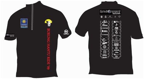 T Shirt Wajah Hantu environment cycling club quot burung hantu quot nite jamboree t shirt design