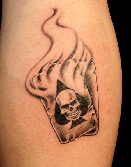 skull spade tattoo designs 26 unique ace images and pictures gallery