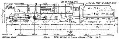 steam engine line diagram rail album lms steam locos non streamlined princess coronation class pacific locomotives