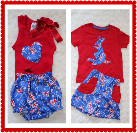 Handmade Clothing Australia - shopping guide handmade for australia day handmade