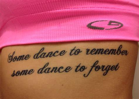dance quote tattoo dancer quote tattoos www pixshark com images galleries
