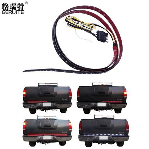truck backup light bar 49 red white tailgate led strip light bar pickup truck