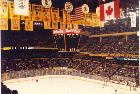 the boston garden the greatest hockey arena days of