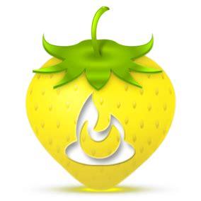 feedburner icon strawberry social media icons