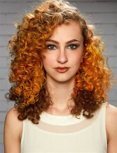 curly hairstyles on relaxed hair heatless curls hair style curvaceous curls redken