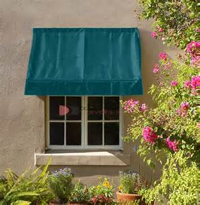 Canvas Window Awnings Prices by 6 Classic Retractable Window Awning Green Fabric Awnings