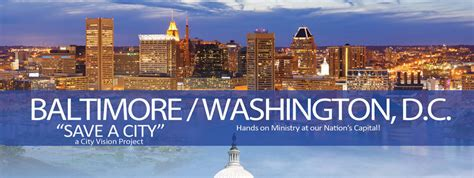 bwi to dc baltimore washington dc city vision youth and