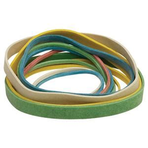 Staples Bagged Rubber Bands Assorted Size And Colour 110g