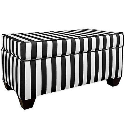 skyline furniture storage bench skyline furniture storage bench in canopy black white