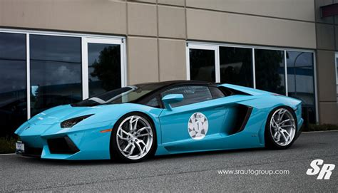 Baby Blue Lamborghini Baby Blue Lamborghini Aventador Roadster By Sr Auto