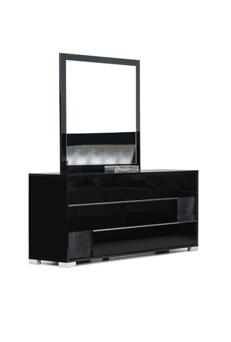 black bedroom dresser modrest grace italian modern black dresser dressers