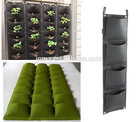 Planterbag 200 Liter Hitam vertical plant bags indoors felt planter recycled felt garden wall planting bags buy plant