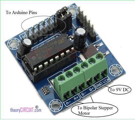 Diskon L293d Shield Motor Driver L293 Arduino 293 arduino stepper motor interface