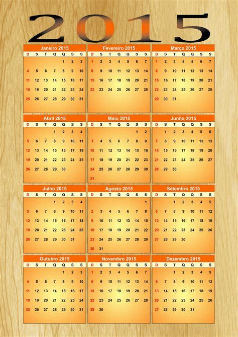 calendario 2015 p 225 4 de 5 calendarios 2015 para