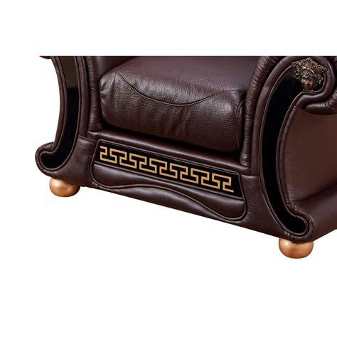 versace chair versace chair in brown croc skin embossed top grain