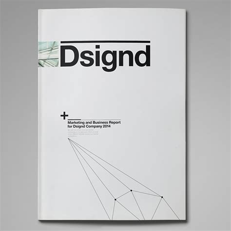 layout of a marketing report dsignd series suisse design marketing report on behance