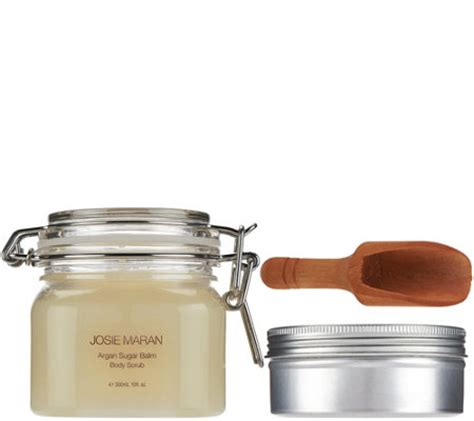Josie Maran Argan Duo josie maran argan balm sugar scrub duo in vanilla pear