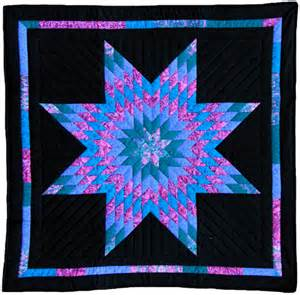 lone amish inspired handmade wall quilt