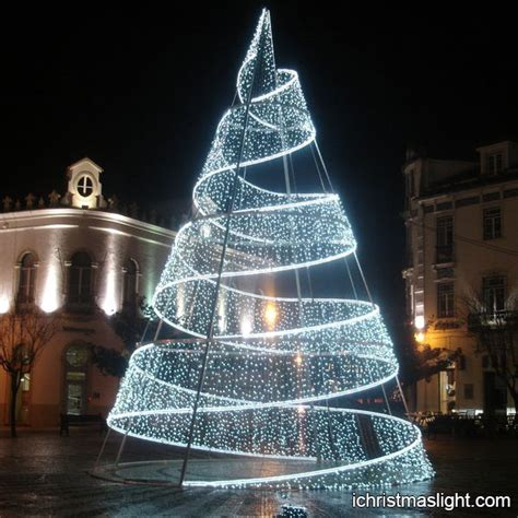 innovative christmas trees pre lit outdoor modern tree ichristmaslight