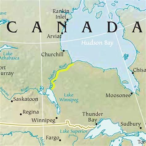 nelson river manitoba canada information page