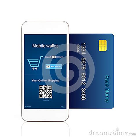 who makes credit cards isolated phone makes purchase with credit card